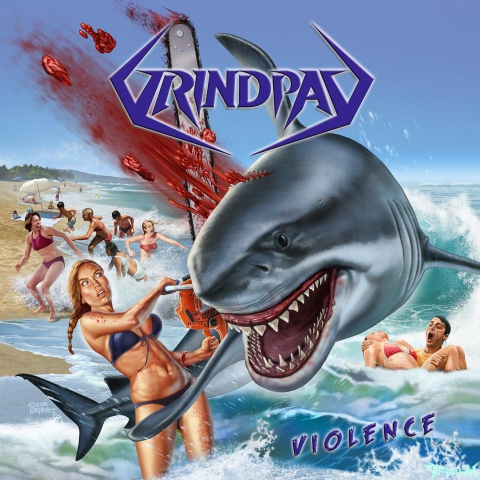 GRINDPAD - Violence (2020)Весьма уважаемая мной банда из Нидерландов сподобилась наконец на выпуск первого полнометражника. До этого парни реализовали четыре епишки. Выпускающий лейбл опять же Iron Shield Records. Дата выхода 21 марта. На страничке в фейсбуке и на сайте уже обьявлен пре-ордер. Но я подожду,пока альбом не появится в наших дистро.